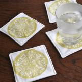 Great replacement for cocktail napkins or nonporous coasters.