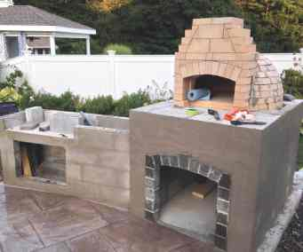 Norton Outdoor Kitchen