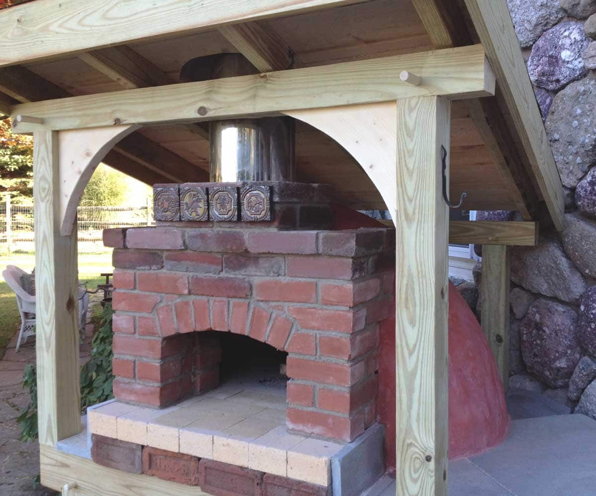 Ray's Backyard Brick Oven - Ray's Backyard Brick Oven - Hearth + Timber