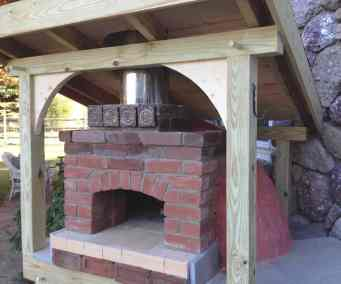 Ray's Backyard Brick Oven