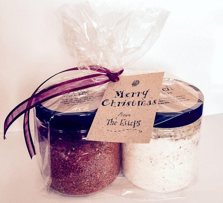 Gifts from your Kitchen - bbq and ranch mixes - Hearth and Vine