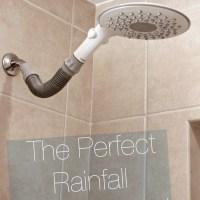 Quick Update: Installing A Rainfall Shower Head