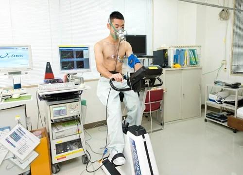 心肺運動負荷試験(CPX)