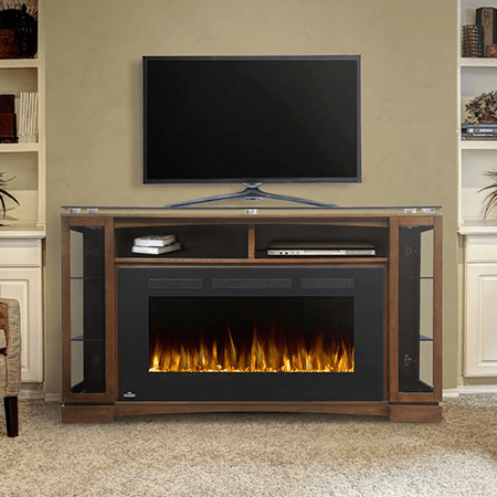 the shelton electric fireplace mantle package