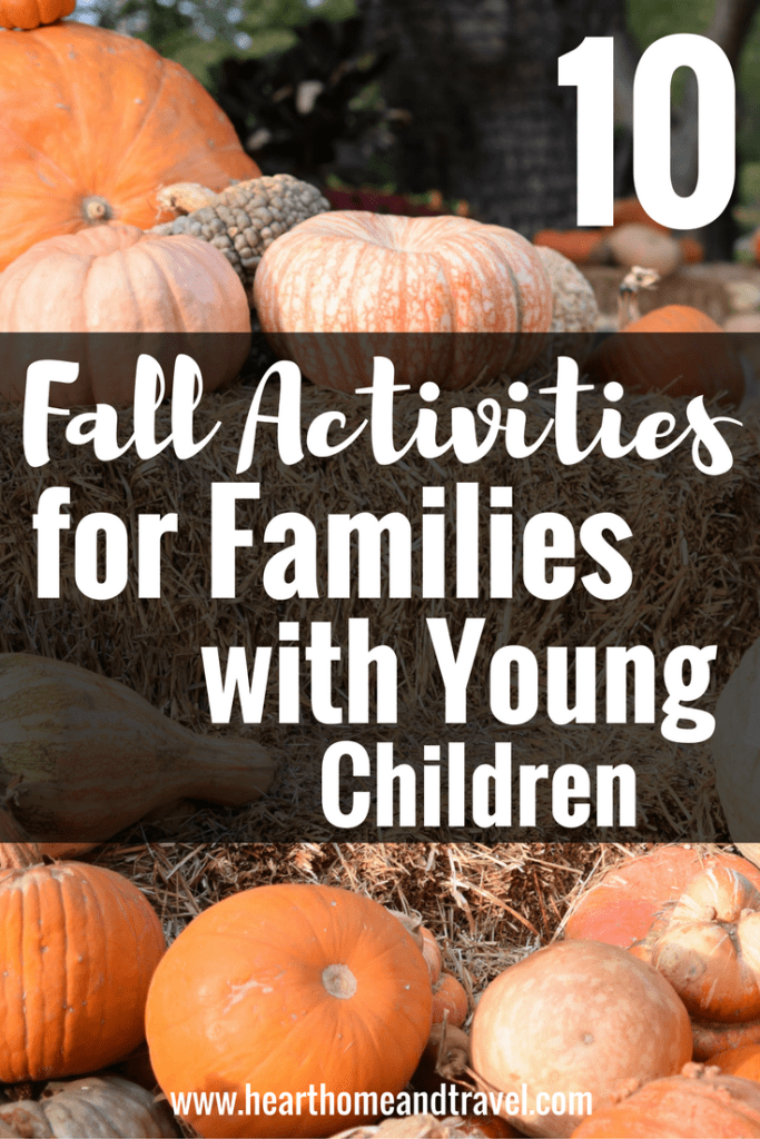 10 Fall Activities for Families with Young Children
