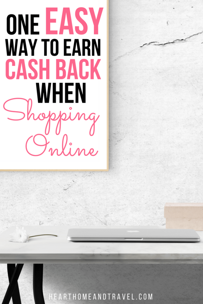 One Easy Way to Earn Cash Back When Shopping Online