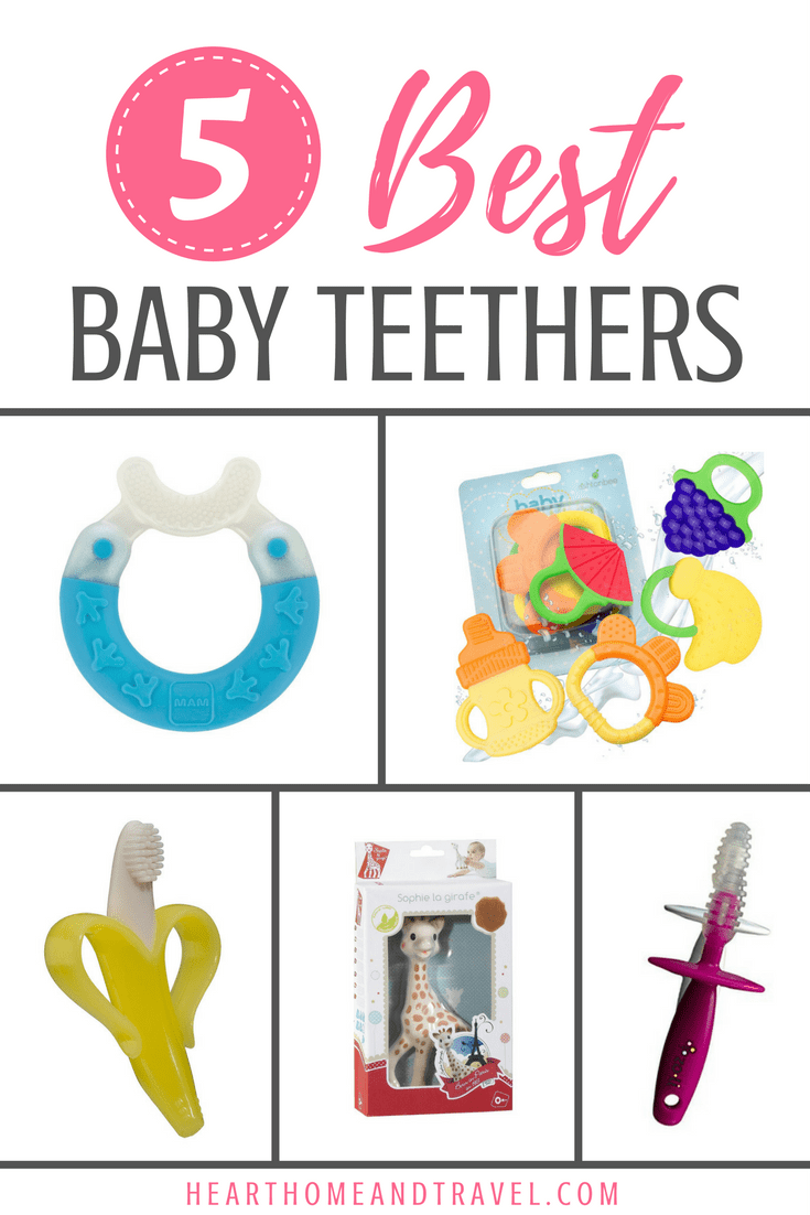 Best Baby Teethers Teething Products Toys