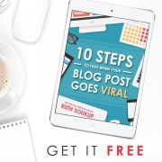10 Steps to take when a post goes viral