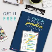 Essential Blog Promotion Checklist Elite Blog Academy