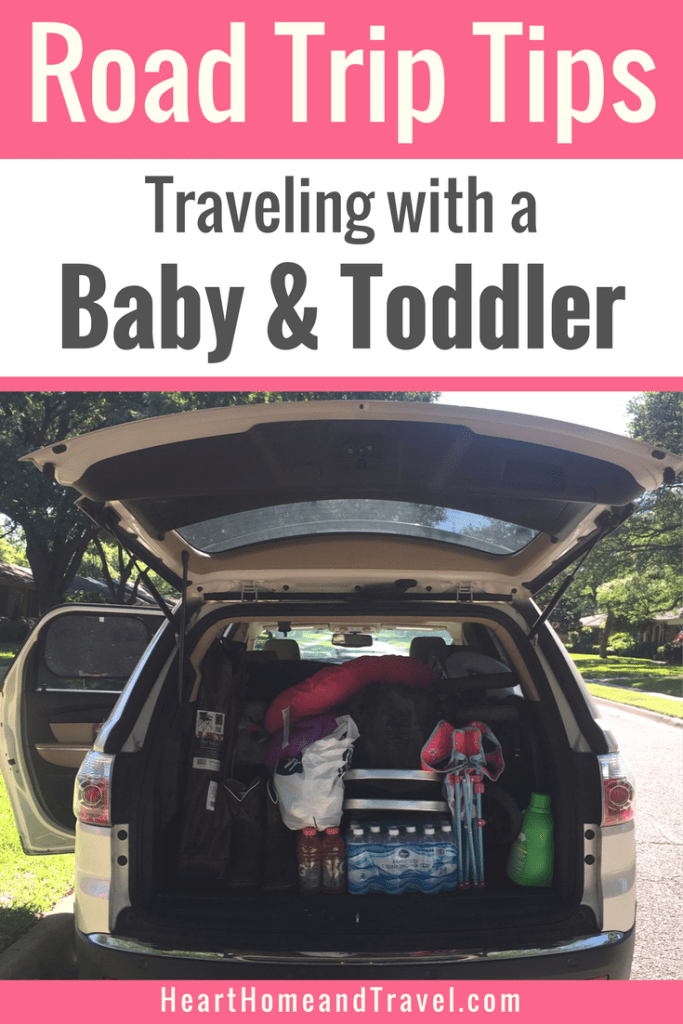 Road Trip Tips with Kids Baby Toddler