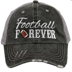 Football forever trucker hat