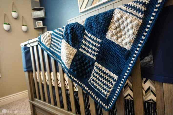 Crochet Stitch Sampler Blanket Pattern