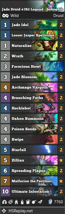 Jade Druid #392 Legend - bebop4th
