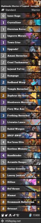 Highlander Warrior #7 Legend - InsomHS
