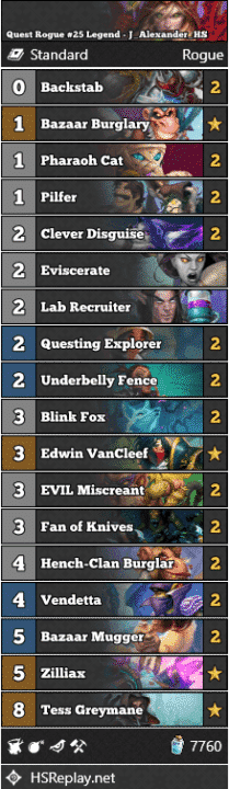 Quest Rogue #25 Legend - J_Alexander_HS