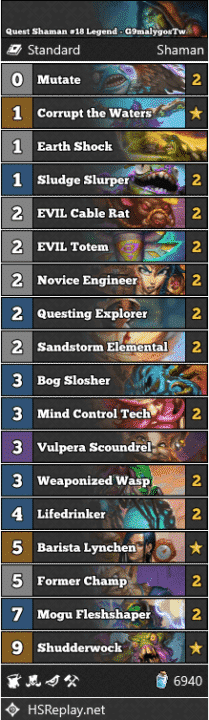 Quest Shaman #18 Legend - G9malygosTw