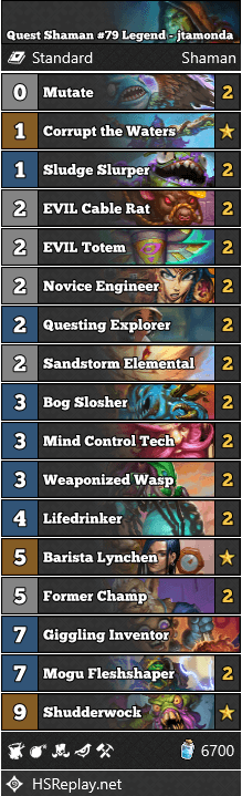 Quest Shaman #79 Legend - jtamonda