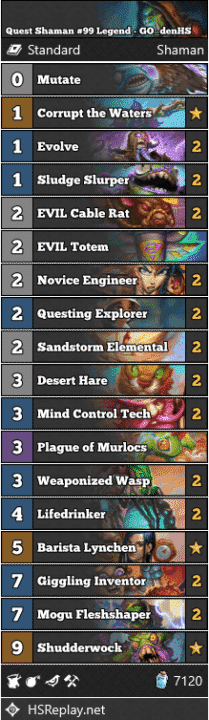 Quest Shaman #99 Legend - GO_denHS