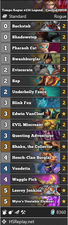 Tempo Rogue #216 Legend - Coolkid2001H