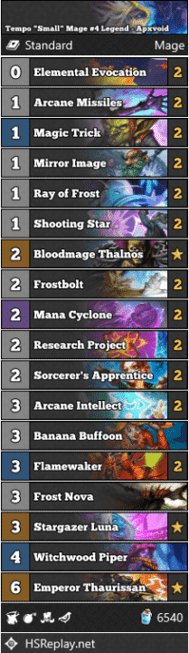 "Tempo ""Small"" Mage #4 Legend - Apxvoid"