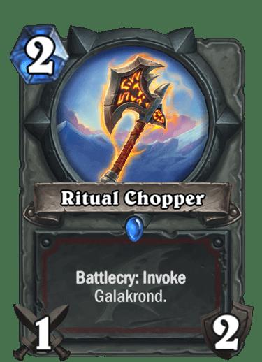 HQ Ritual Chopper