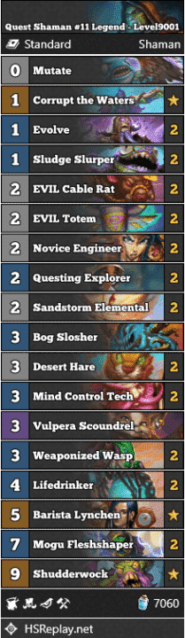 Quest Shaman #11 Legend - Level9001