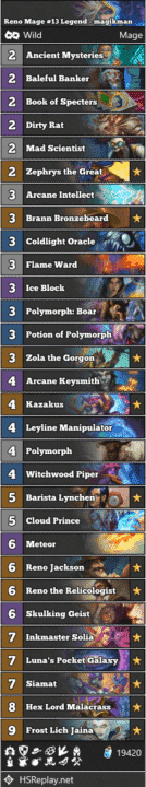 Reno Mage #13 Legend - magikman