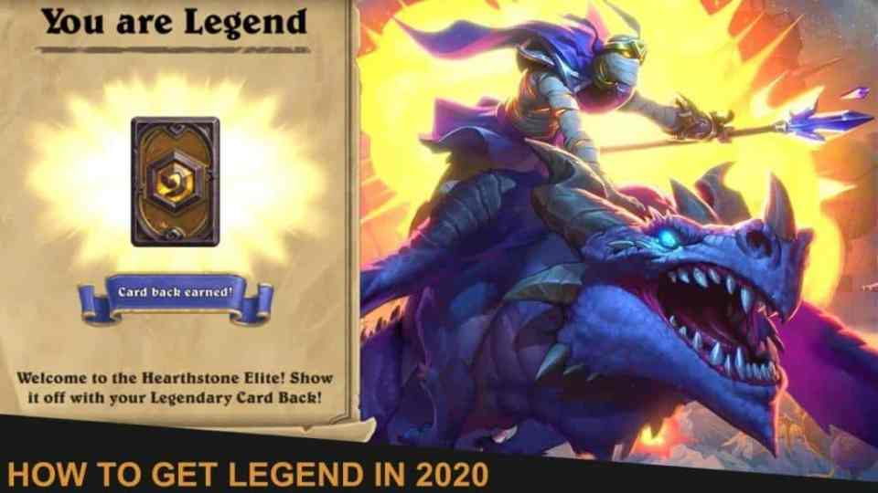 How to get Legend in 2020