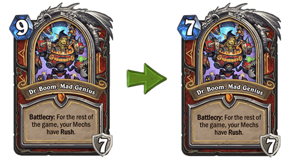 Dr. Boom, Mad Genius Reverted Nerf