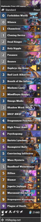 Highlander Priest #99 Legend - 最后一只脏牧