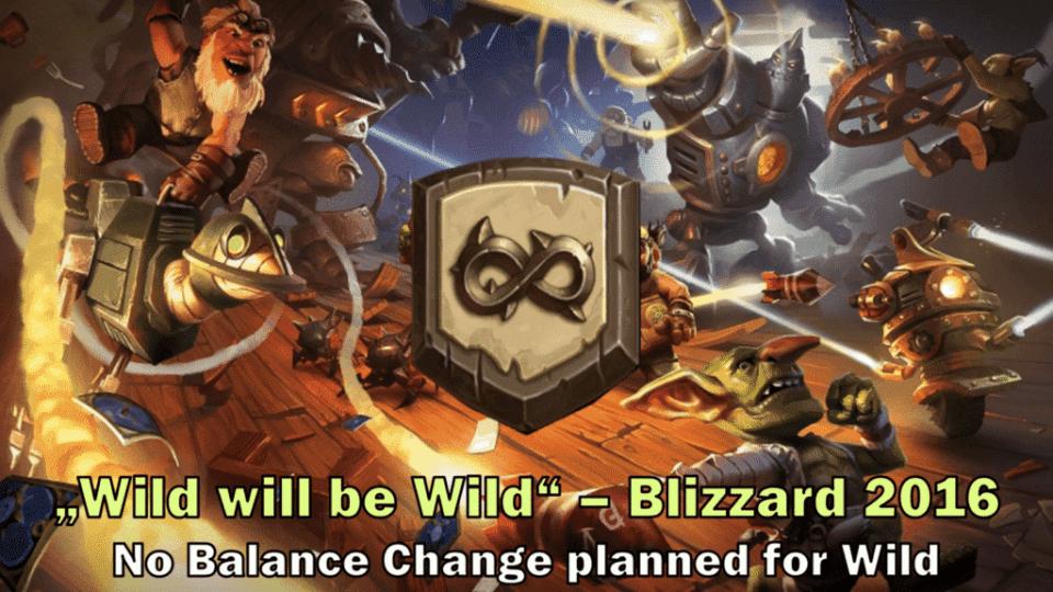 Wild will be Wild - Blizzard 2016