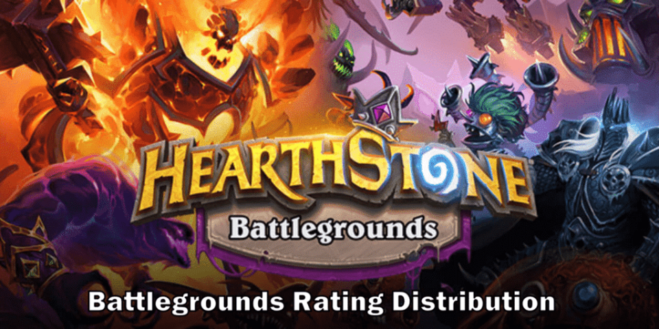 Battlegrounds Rating Distribution - Twitter