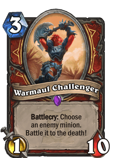 Warmaul Challenger HQ
