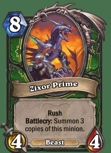 Zixor Prime HQ