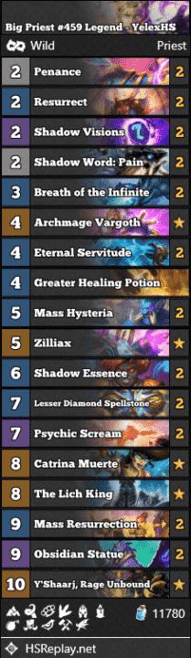 Big Priest #459 Legend - YelexHS