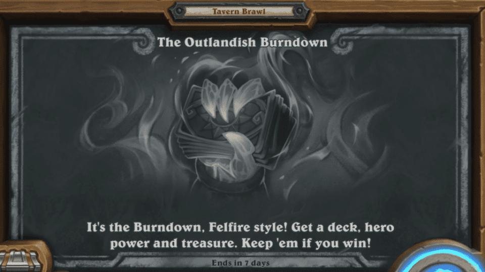 The Outlandish Burndown