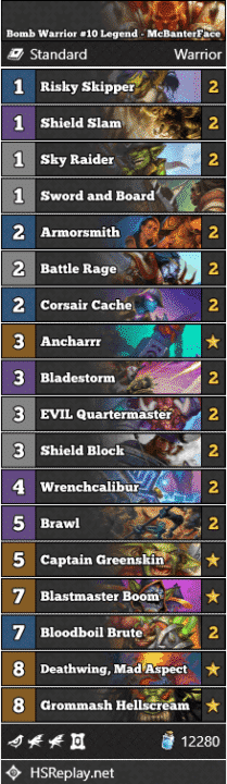 Bomb Warrior #10 Legend - McBanterFace
