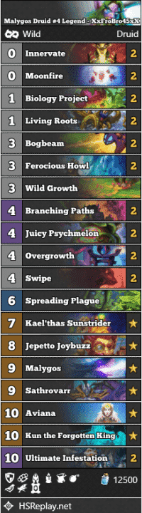 Malygos Druid #4 Legend - XxFroBro45xX