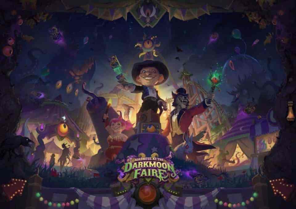 Madness at the Darkmoon Faire - Key Art