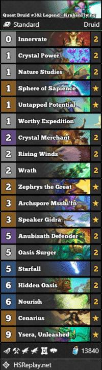 Quest Druid #382 Legend - KrakenFlying