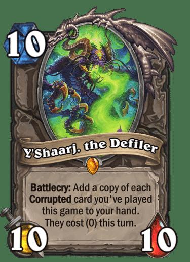 Y'Shaarj, the Defiler