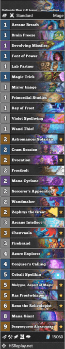 Highlander Mage #147 Legend - ramon_tandjung
