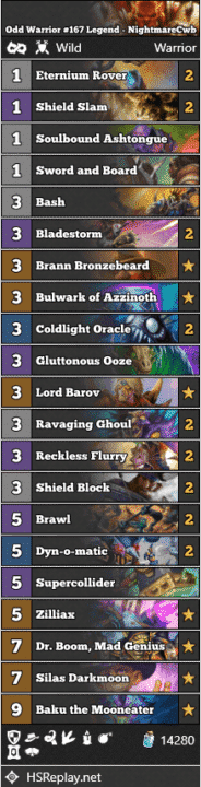 Odd Warrior #167 Legend - NightmareCwb