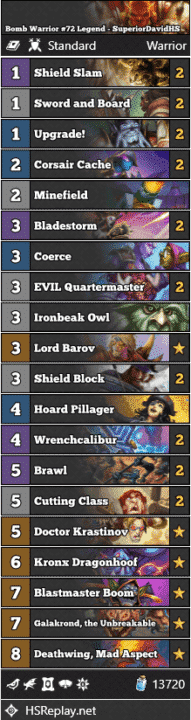 Bomb Warrior #72 Legend - SuperiorDavidHS