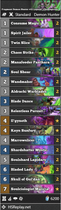 Fragment Demon Hunter #15 Legend - Chemagician