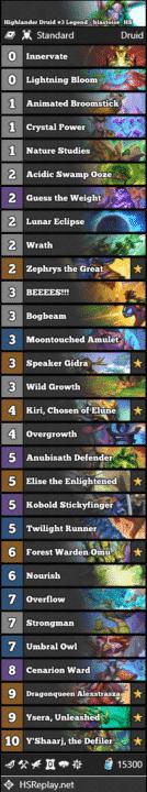 Highlander Druid #3 Legend - blastoise_HS