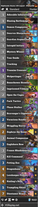 Highlander Hunter #99 Legend - D0nkeyHS