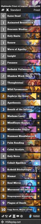 Highlander Priest #2 Legend - MoleStarHS