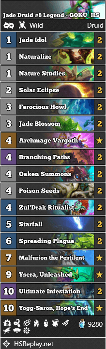 Jade Druid #8 Legend - GOKU_HS