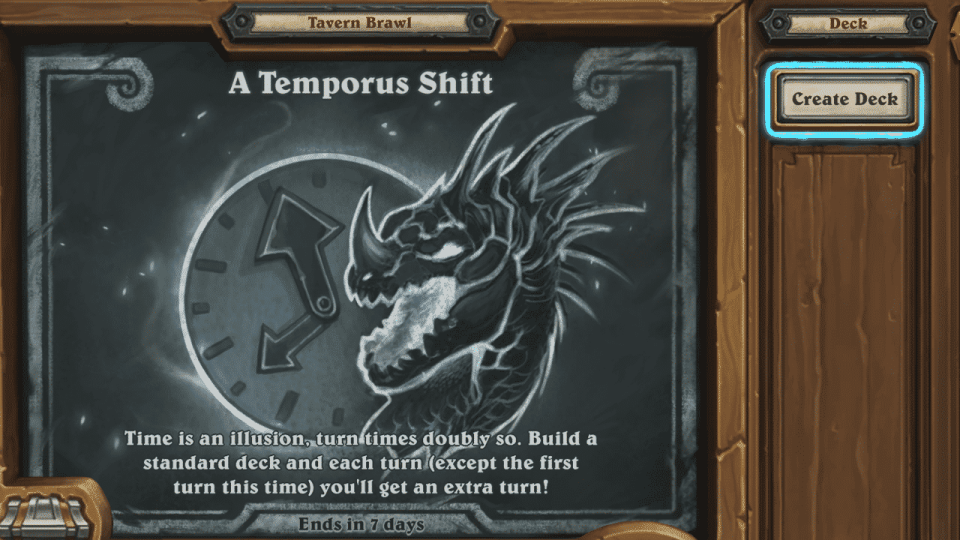 A Temporus Shift